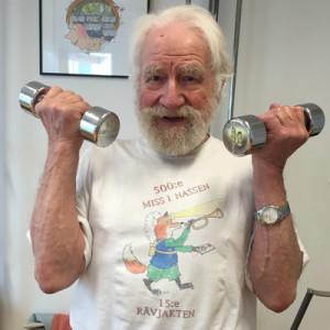 Geriatriska patienter och friska äldre